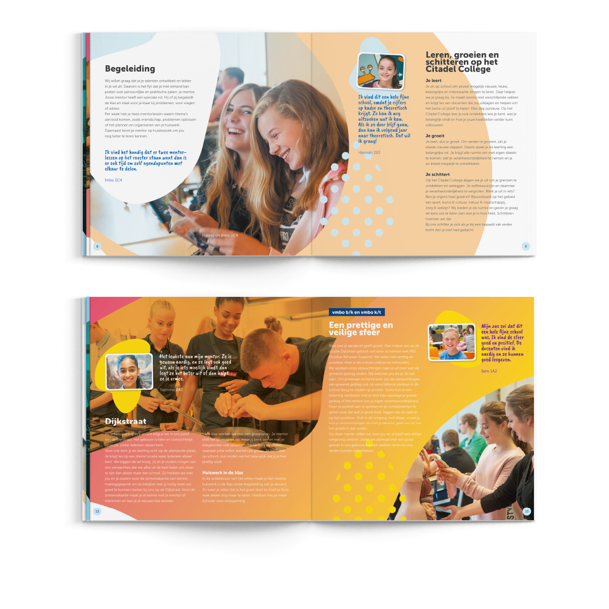 Citadel College | Brochure | Creative Digital Agency Puntkomma Nijmegen