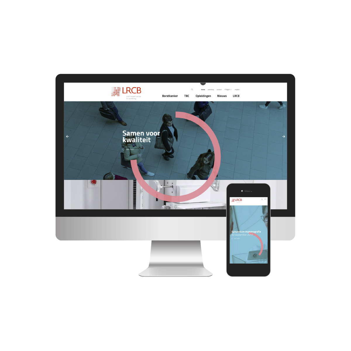 LRCB | Webdesign | Creative Digital Agency Puntkomma Nijmegen