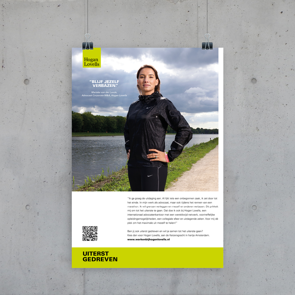 Hogan Lovells | Poster | Creative Digital Agency Puntkomma Nijmegen