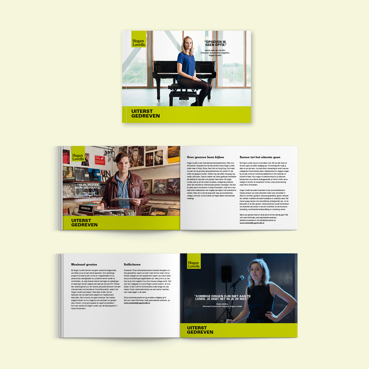 Hogan Lovells | Brochure | Creative Digital Agency Puntkomma Nijmegen