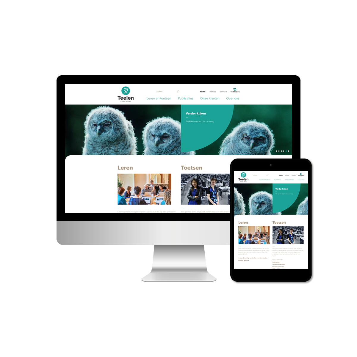 Teelen | Webdesign | Creative Digital Agency Puntkomma Nijmegen