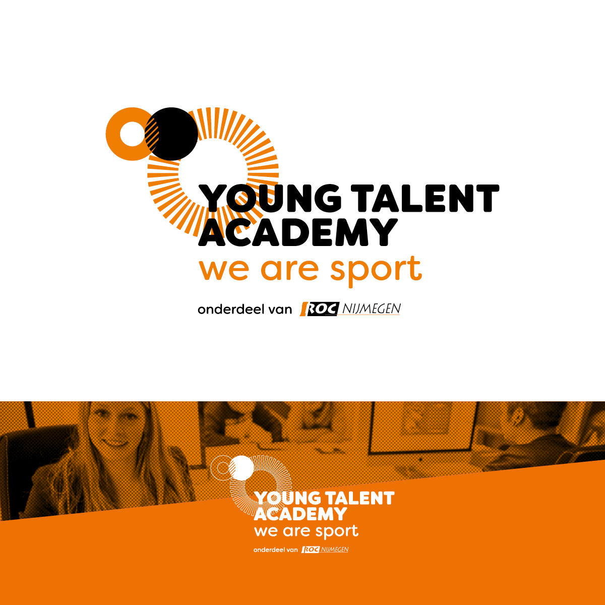 Young Talent Academy | Logo | Creative Digital Agency Puntkomma Nijmegen