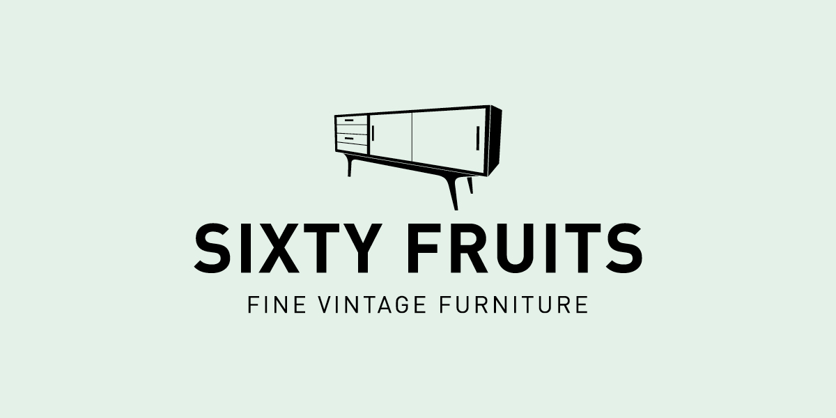 Logo corporate identity Sixty Fruits - Communicatiebureau Puntkomma Nijmegen